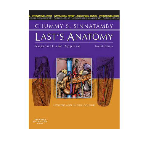Last's Anatomy Regional and Applied 12th Edition A020580 large 1