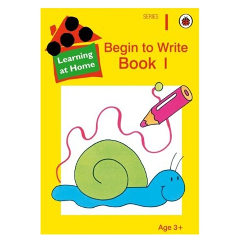 Learning At Home Begin To Write Book-1 B140021 large 1