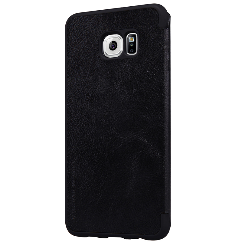 Samsung S6 Edge Leather Case large 1