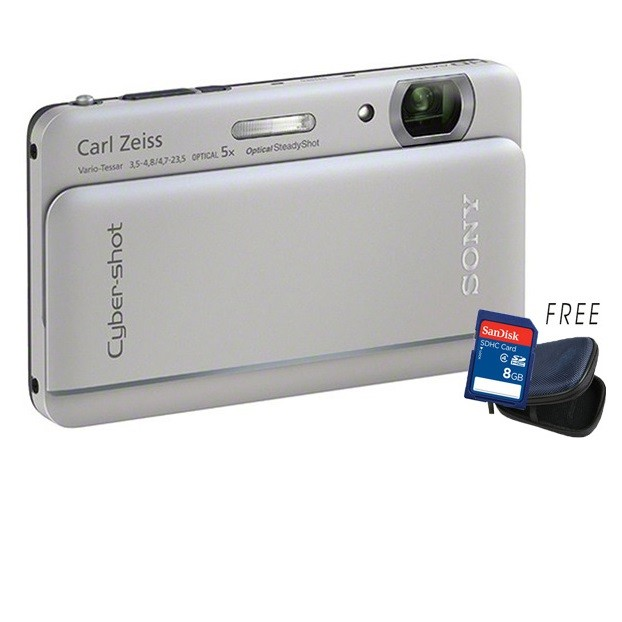 Sony Cyber Shot Dsc Tx66 18.2 Mp 5x Optical Zoom