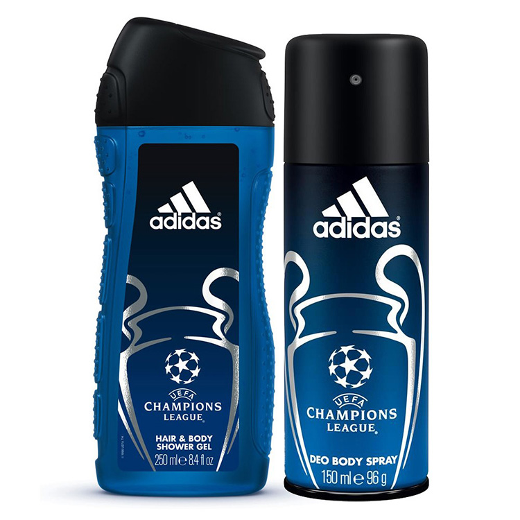 Adidas Champions Leagie 2 in 1 Gift Set large 1