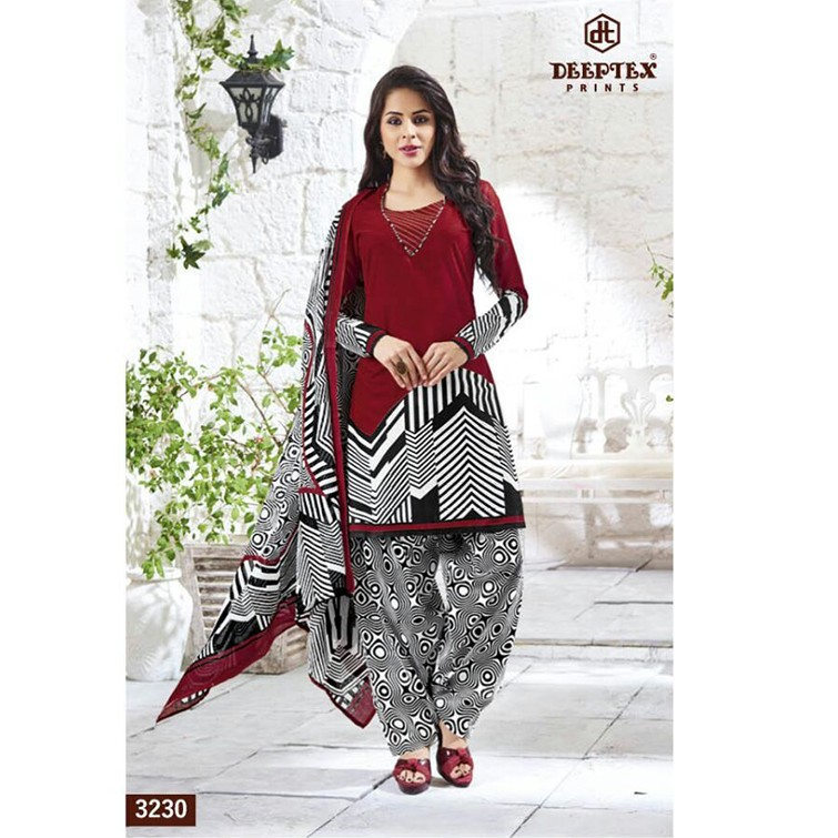 UN-STITCHED SHALWAR MATERIAL DESIGN NO 3230 large 1