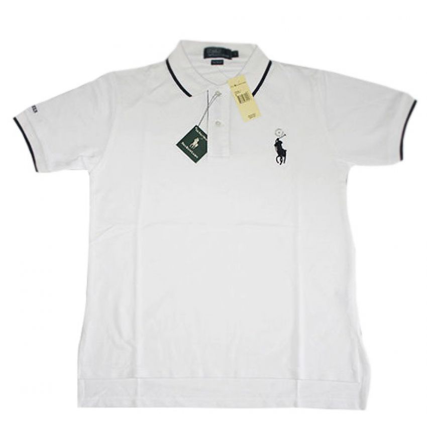 Mens Golf White T Shirt