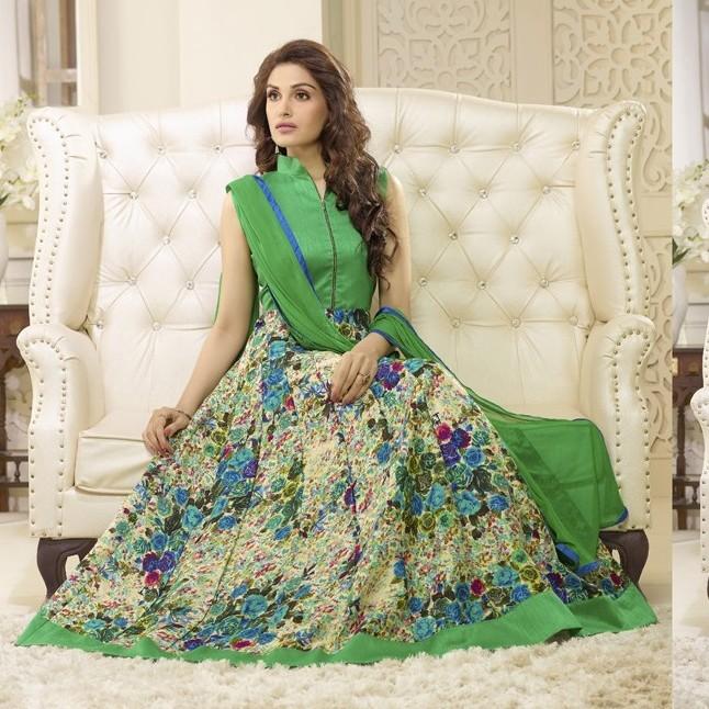 Flooral Designer Anarkali Salwar SHR104
