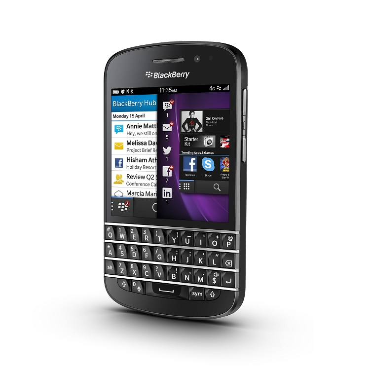 Blackberry Q10 Black large 1