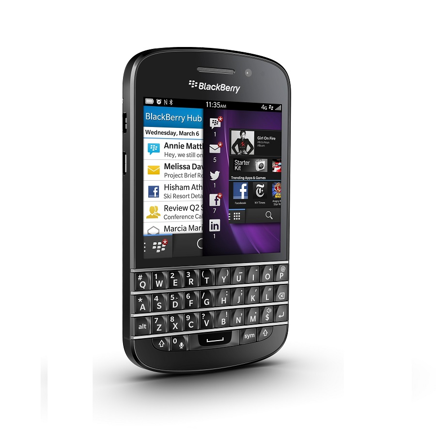 Blackberry Q10 Black large 2