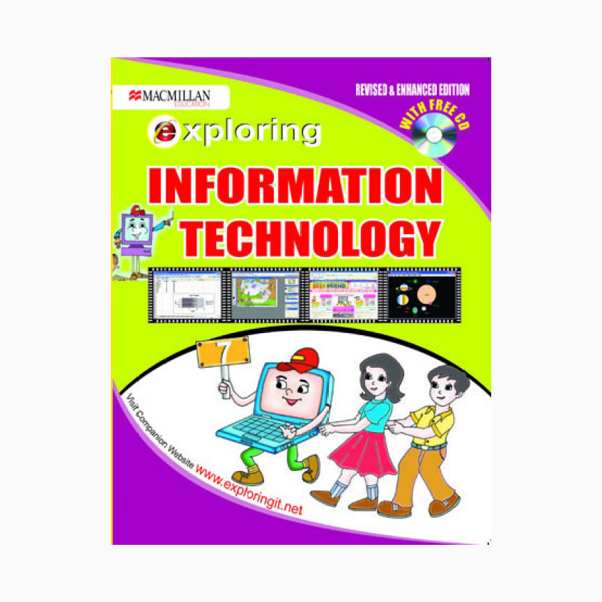 Exploring Information Technology Cl-7 with CD- Revised & Enhanced Ed. B100521 large 1