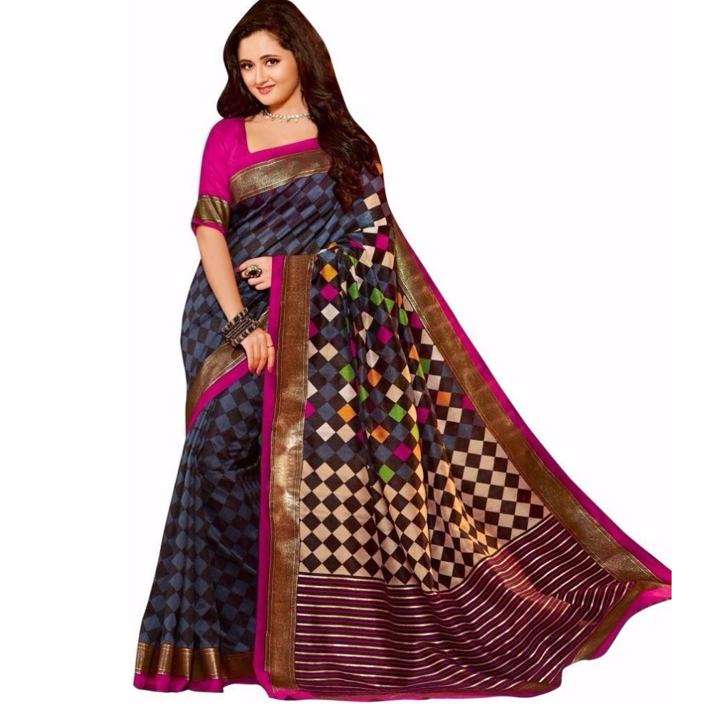 Casual Wear Saree SRC044 large 1