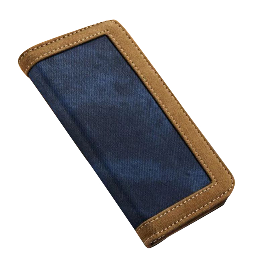 iPhone 6 and 6S Jeans Leather Flip Case large 1