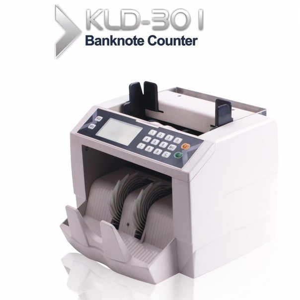 Cash Currency Money Banknote Bill Counting Machine - KLD 301 large 1