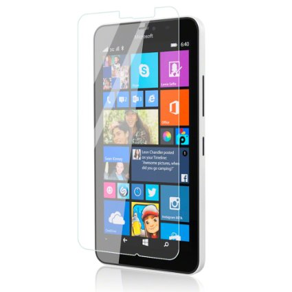 Microsoft Lumia 640XL Tempered Glass