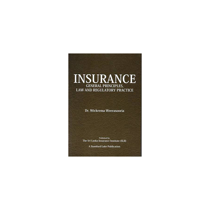 Insurance General Principles Law And Regulatory Practice large 1