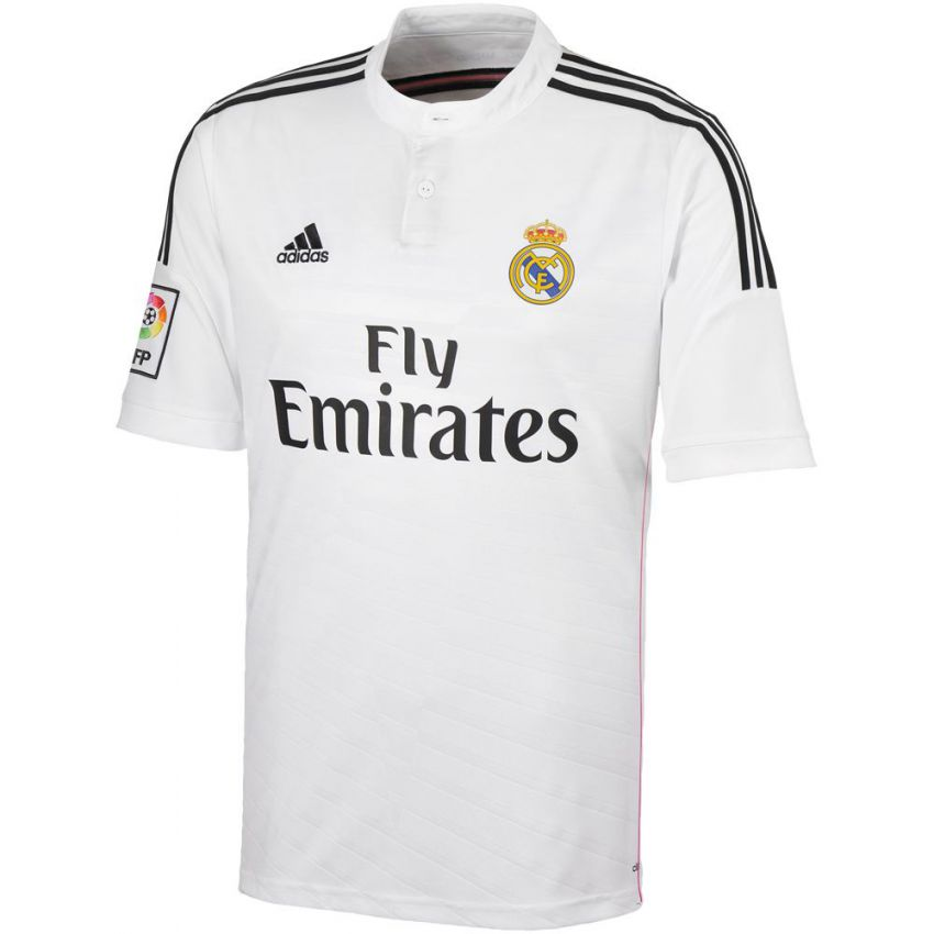 Real Madrid Football Jersey White large 1