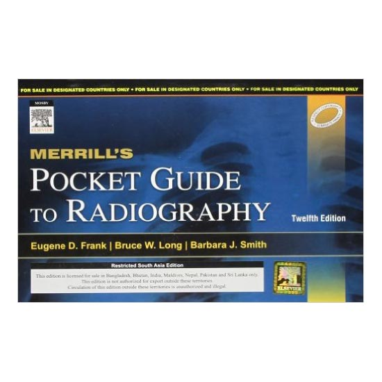 Merrill's Pocket Guide to Radiography 12th Edition A040328 large 1