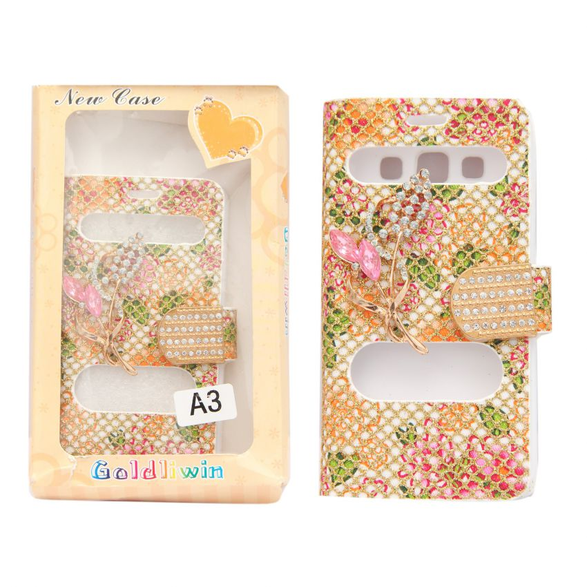 Samsung A3 Flip Cover large 1