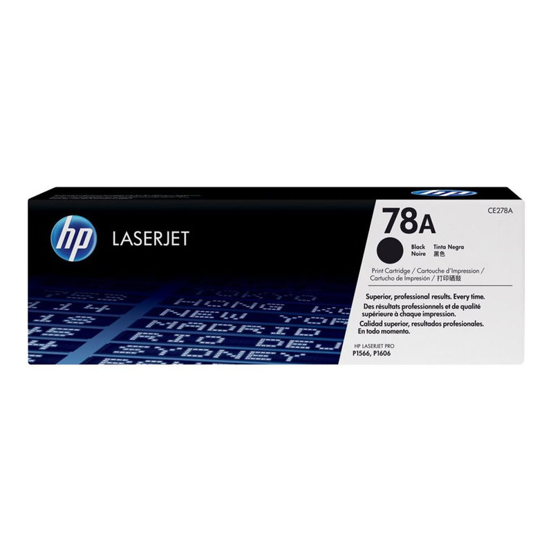 HP 78A CE278A Black Original LaserJet Toner Cartridge 20000677 large 1
