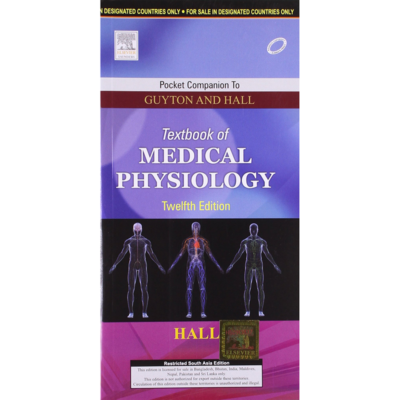 Pocket Companion to Guyton and Hall Textbook of Medical Physiology 12E A050316 large 1