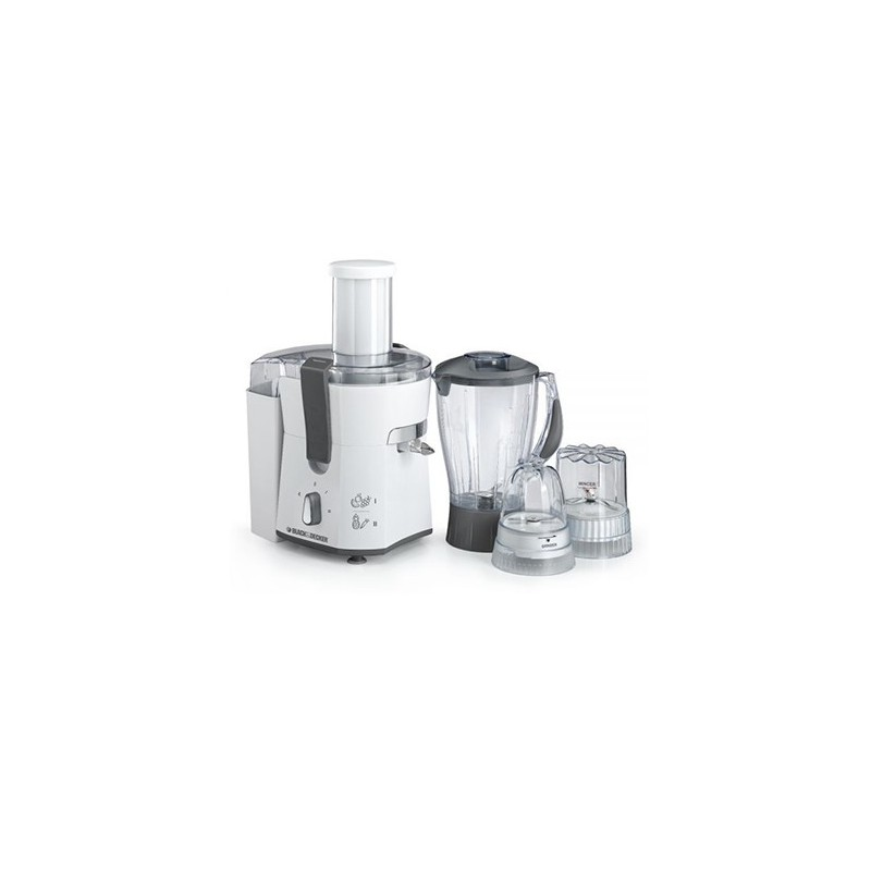 Black & Decker 500W Juicer Blender with Grinder & Mincer JBGM600