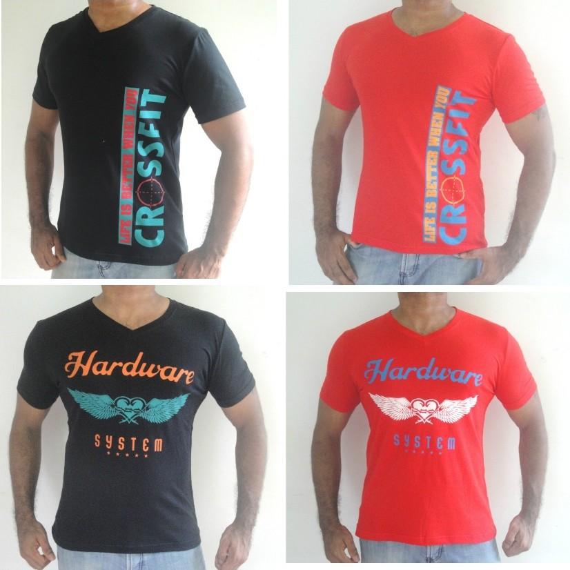 Pack 0f 4 gents tshirts hardcross