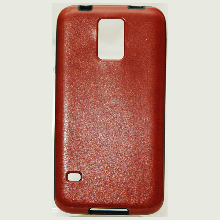 Samsung Galaxy S5 Leather Jelly Case HJEL 1482BR large 1