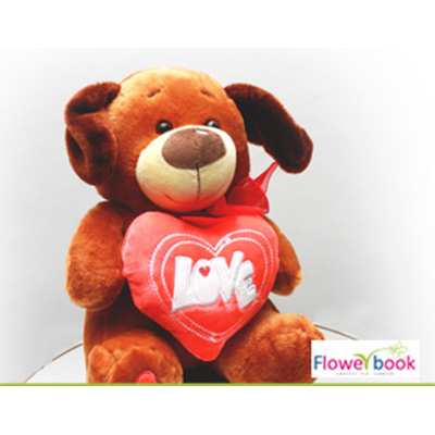Teddy with Love Heart ST004 large 1