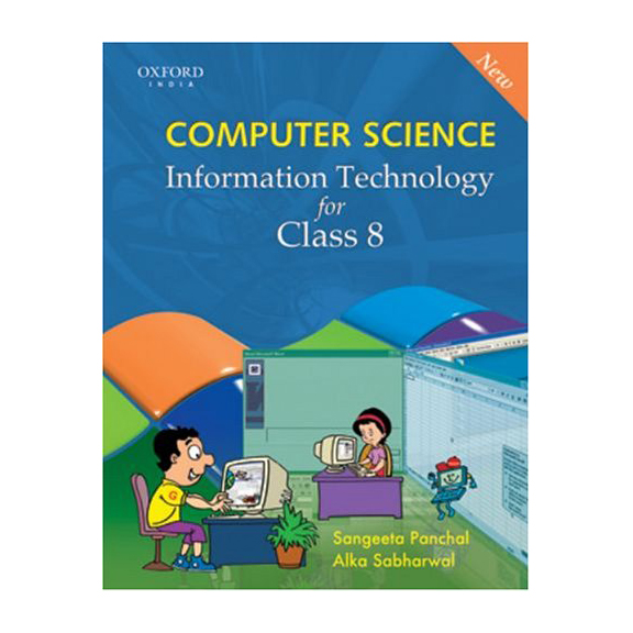 New Computer Science Information Technology For Class-8 B030629 large 1