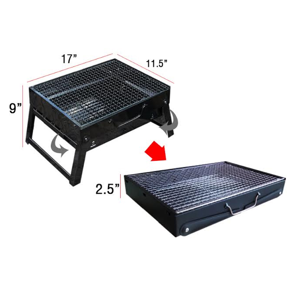 Portable BBQ Grill Barbecue Grill large 2