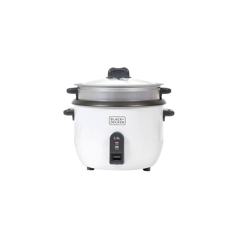 Black & Decker 2.8 L Non-Stick Rice Cooker RC2850