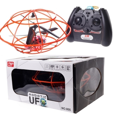 3CH Remote Control Flying UFO 805 large 1