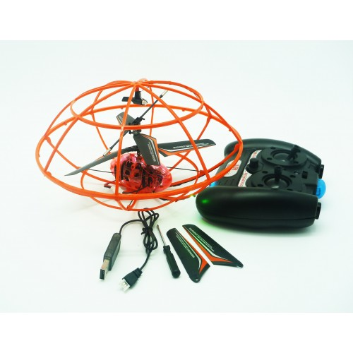 3CH Remote Control Flying UFO 805 large 3