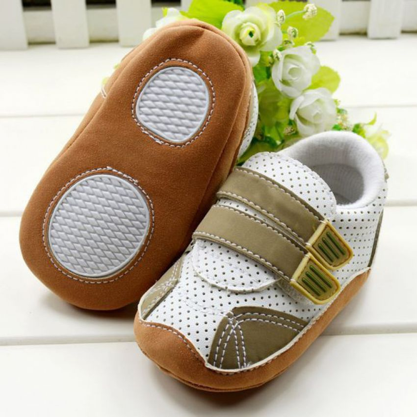 Baby Boys First Walkers Shoes large 1