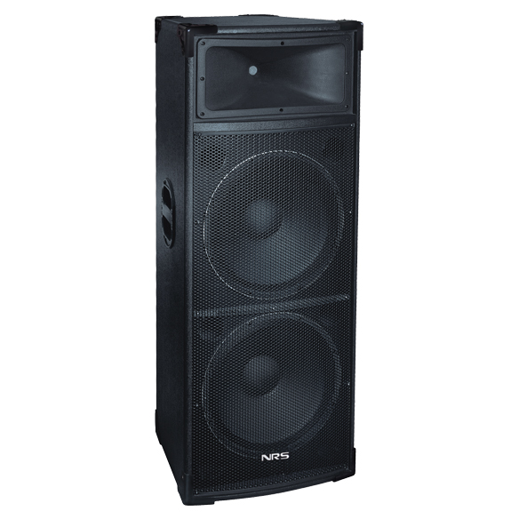 Dual 15 Inch High Power 2 Way Speakers Model HT325 large 1
