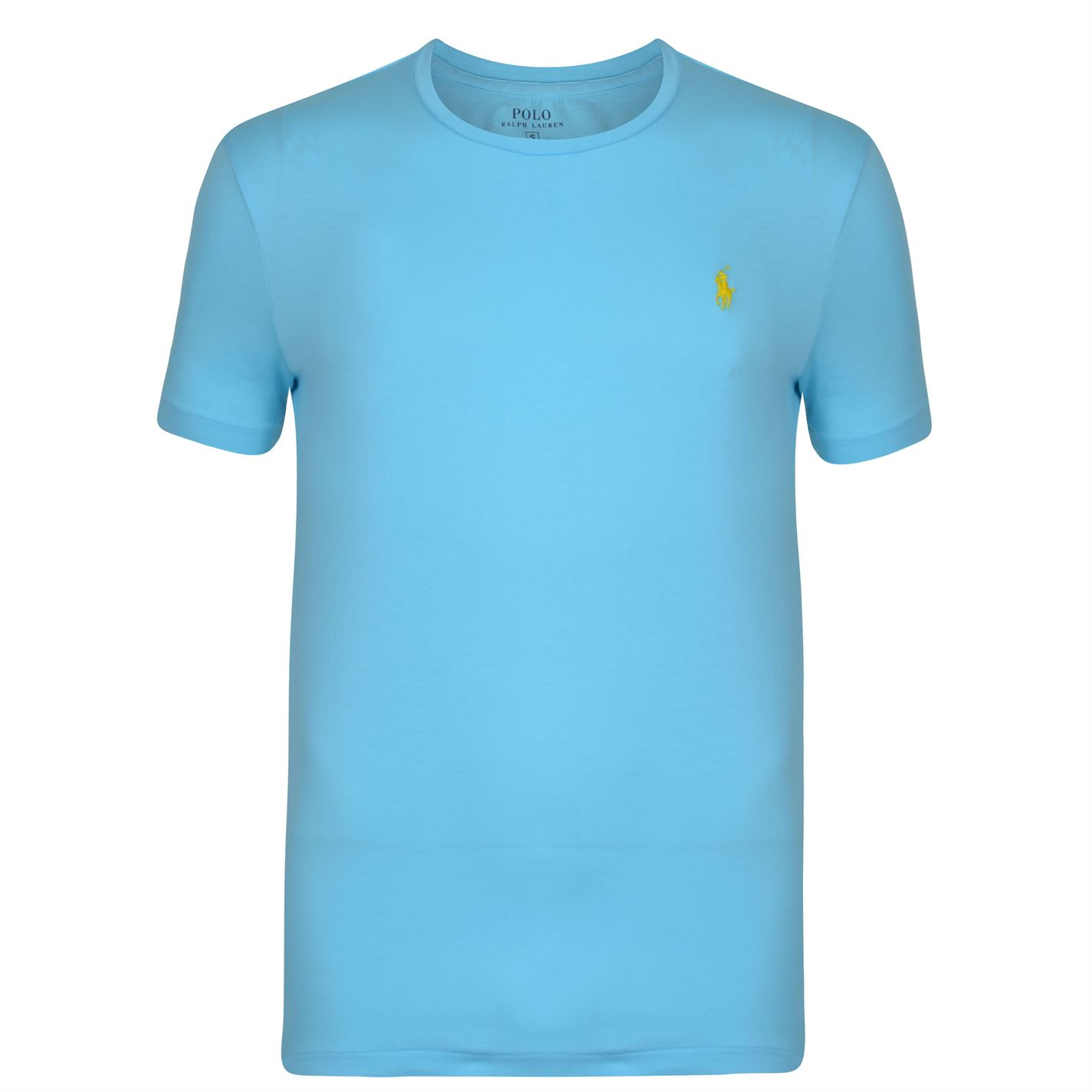 Men's SkyBlue Crew Neck T Shirt large 1