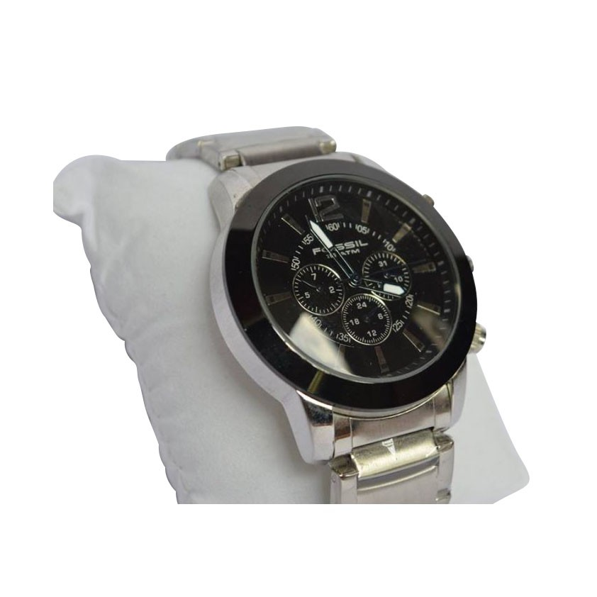 Fossil Black Dial Wrist Watch large 2