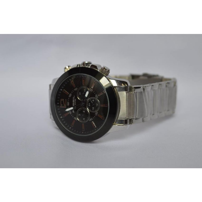 Fossil Black Dial Wrist Watch large 3