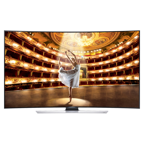 Samsung 55 Inch 4K Curved UHD TV 55HU9000 large 1