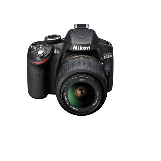 NIKON D3200 24.2 MP CMOS DIGITAL SLR CAMERA WITH 18-55MM large 1