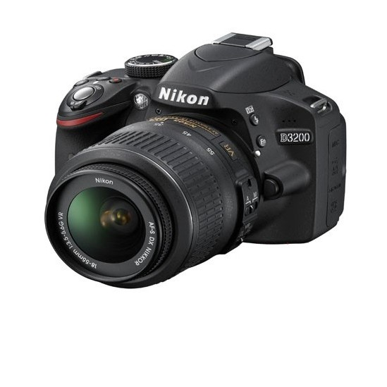 NIKON D3200 24.2 MP CMOS DIGITAL SLR CAMERA WITH 18-55MM large 3