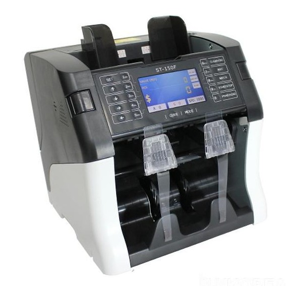 Cash Currency Money Banknote Bill Value / Mix Counting / Sorting Machine - ST 150 large 1