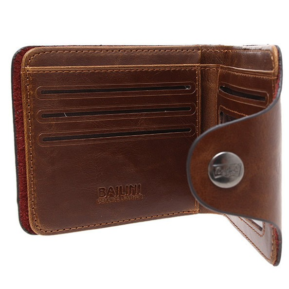 Mens Leather Wallet large 2