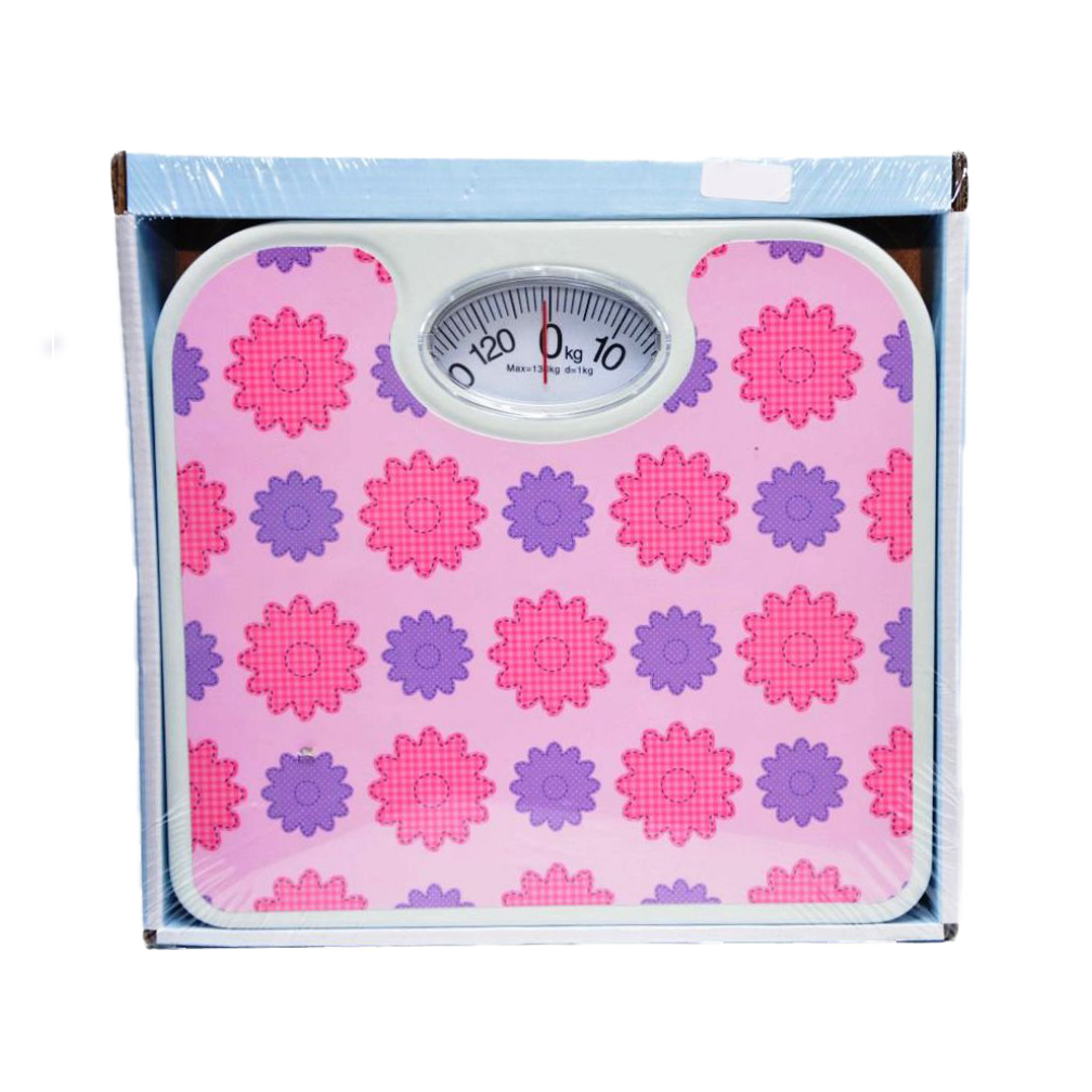 Flower Decorated Personal Scale large 1