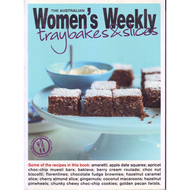 Womens Weekly Traybakes and Slices large 1