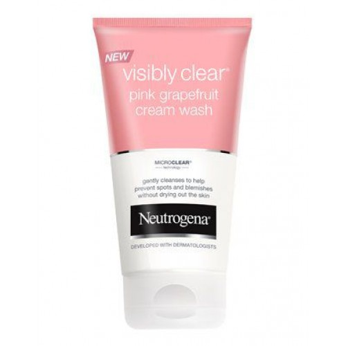 Neutrogena Visibly Clear Cream Wash 150Ml NTG 03 large 1