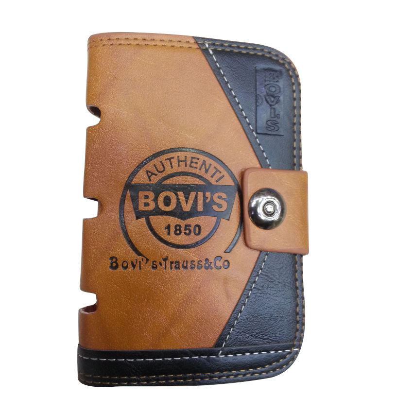 Bovis 1850 Leather Wallet for Men large 1