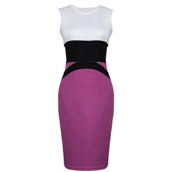 Elegant Business Women Casual Office Pencil Dress NIS 146 large 2