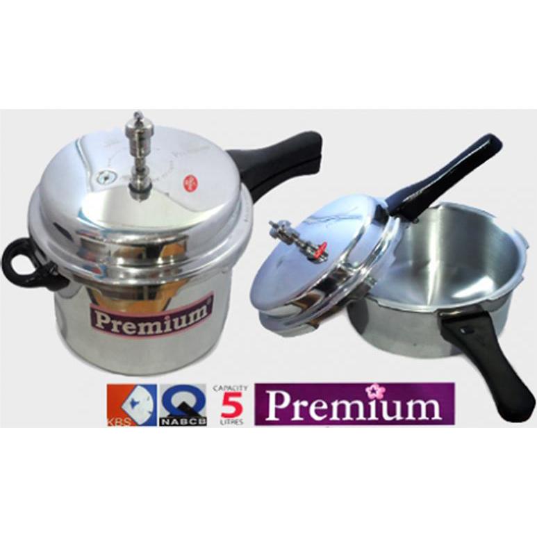 Premium 5L Pressure Cooker
