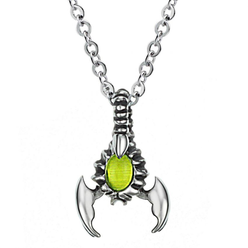 Stainless Steel Scorpion Necklace large 1