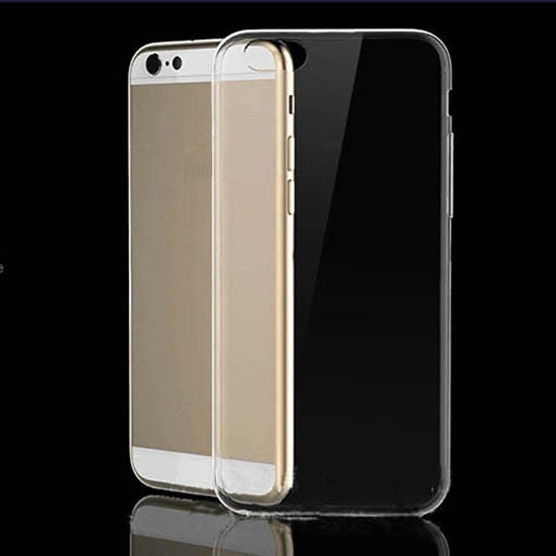 Clear Transparent Crystal Soft TPU Silicone Gel Cover PC01 large 1
