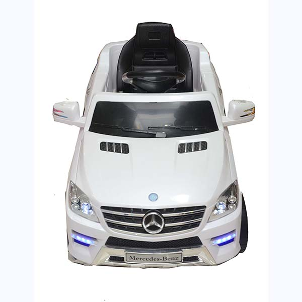 Kids Mercedes Benz White Rechargeable Car 13000072 large 1