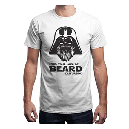 The Beard side Unisex White large 1